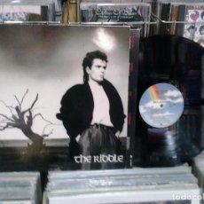 Discos de vinilo: LMV - NIK KERSHAW. THE RIDDLE. MCA RECORDS 1984, REF. L 251595-1 -- LP. Lote 195265348