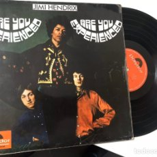 Discos de vinilo: JIMI HENDRIX LP ARE YOU EXPERIENCED 1967. Lote 195265596