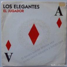 Discos de vinilo: LOS ELEGANTES // EL JUGADOR // 1992 // SINGLE. Lote 195265960