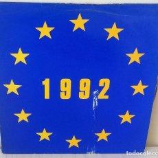 Discos de vinilo: GENERATION N - 1992 (NINETY TWO) MAXI ESCALATOR EDIC. BELGICA - 1989. Lote 195266668