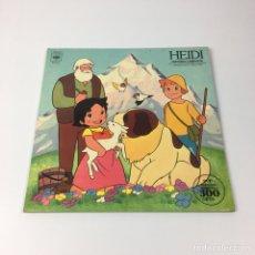 Discos de vinilo: LP - HEIDI, HISTORIA COMPLETA. Lote 195267362