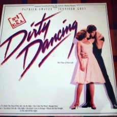 Discos de vinilo: LP DIRTY DANCING, THE TIME OF MY LIFE. BANDA SONORA ORIGINAL/ ORIGINAL SOUNDTRACK. 1987.. Lote 195267743