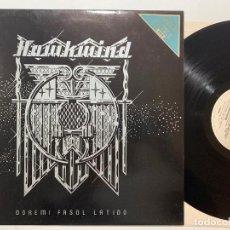 Discos de vinilo: LP HAWKWIND – DOREMI FASOL LATIDO EDICION INGLESA DE 1981. Lote 195269877