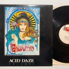 Discos de vinilo: LP HAWKWIND – ACID DAZE VOLUME 3 EDICION INGLESA DE 1990. Lote 195270996