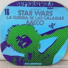 Discos de vinilo: MECO - STAR WARS - LA GUERRA DE LAS GALAXIAS MAXI R C A - 1977. Lote 195271202
