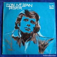 Discos de vinilo: LP DON MCLEAN TAPESTRY BUEN ESTADO. Lote 195273875