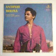 Discos de vinilo: ANTONIO MOLINA LP MONTILLA BRASIL. Lote 195274432