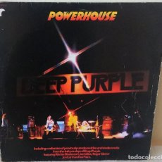 Discos de vinilo: DEEP PURPLE - POWERHOUSE PURPLE EDIC. FRANCESA - 1977. Lote 195275246