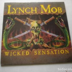 Discos de vinilo: LYNCH MOB WICKED SENSATION. Lote 195277620