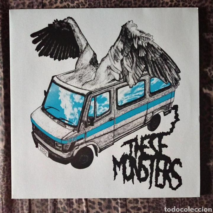 THESE MONSTERS - HEROIC DOSE (Música - Discos - LP Vinilo - Punk - Hard Core)