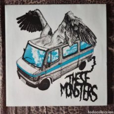 Discos de vinilo: THESE MONSTERS - HEROIC DOSE. Lote 195278576