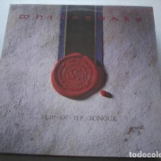 Discos de vinilo: WHITESNAKE SLIP OF THE TONGUE. Lote 195278581