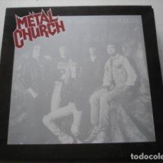 Discos de vinilo: METAL CHURCH BLESSING IN DISGUISE. Lote 195279911