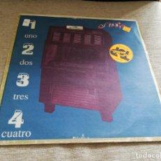 Discos de vinilo: SPANIC-1,2,3,4.MAXI. Lote 195281801