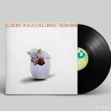 Discos de vinilo: TRIUMVIRAT ‎– ILLUSIONS ON A DOUBLE DIMPLE BRASIL 1974. Lote 195281916
