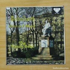 Discos de vinilo: SCHUBERT - OCTET IN F MAJOR - LP. Lote 195282312