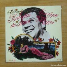 Discos de vinilo: ENRIQUE VILLEGAS - BALADAS DE AMOR - LP. Lote 195282340