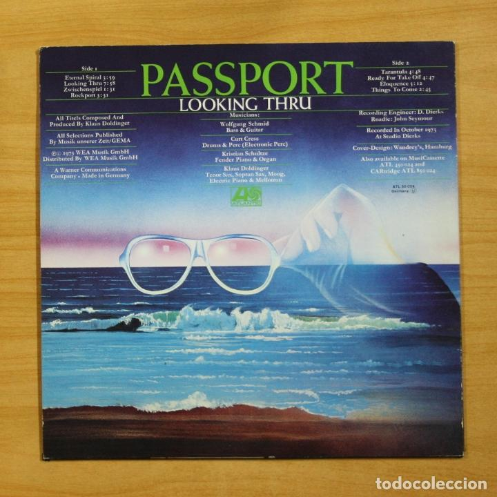 Discos de vinilo: PASSPORT - LOOKING THRU - LP - Foto 2 - 195282432