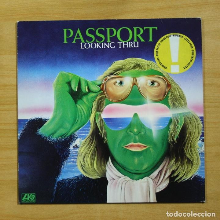 PASSPORT - LOOKING THRU - LP (Música - Discos - LP Vinilo - Jazz, Jazz-Rock, Blues y R&B)