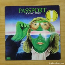 Discos de vinilo: PASSPORT - LOOKING THRU - LP. Lote 195282432