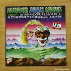 Discos de vinilo: PASSPORT - DOLDINGER JUBLEE CONCERT - GATEFOLD - LP. Lote 195282438