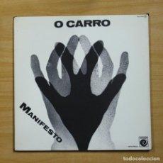 Discos de vinilo: O CARRO - MANIFESTO - GATEFOLD - LP. Lote 195282472