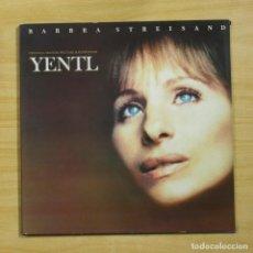 Discos de vinilo: BARBRA STREISAND - YENTL - PROMO - GATEFOLD - LP. Lote 195282497