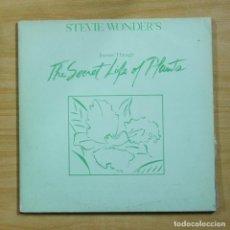 Discos de vinilo: STEVIE WONDER - THE SECRET LIFE OF PLANTS - GATEFOLD - 2 LP. Lote 195282508