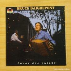 Discos de vinilo: BRUCE DAIGREPONT - COEUR DES CAJUNS - LP. Lote 195282545
