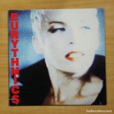 Discos de vinilo: EURYTHMICS - BE YOURSELF TONIGHT - LP. Lote 195282547