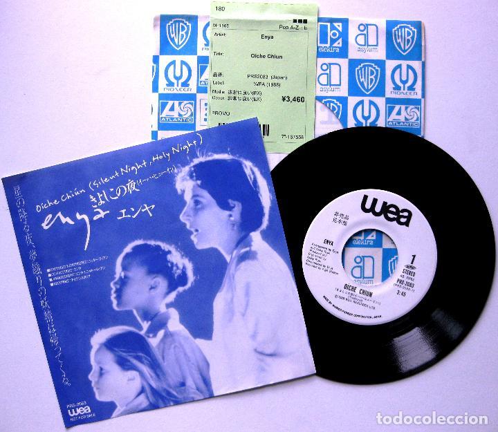 ENYA - OÍCHE CHIÚN (SILENT NIGHT) /ORINOCO FLOW - SINGLE WEA 1988 JAPAN PROMO (EDICIÓN JAPONESA) BPY (Música - Discos - Singles Vinilo - Étnicas y Músicas del Mundo)