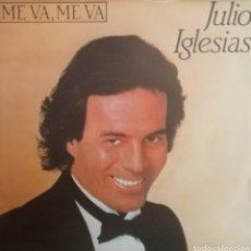 Discos de vinilo: JULIO IGLESIAS. SINGLE PROMOCIONAL /UNA CARA. SELLO CBS. EDITADO EN ESPAÑA. AÑO 1984. Lote 195284265