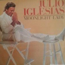 Discos de vinilo: JULIO IGLESIAS. SINGLE PROMOCIONAL/UNA CARA. SELLO CBS. EDITADO EN ESPAÑA. AÑO 1985. Lote 195284360