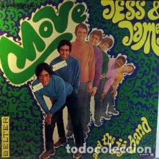 Discos de vinilo: JESS & JAMES AND THE J.J. BAND – MOVE (BELTER, 44.281 LP, SPAIN,1968) BUENA COPIA. Lote 195285301