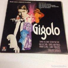 Discos de vinilo: BANDA SONORA ORIGINAL DE LA PELÍCULA GIGOLO (ARIOLA – 200462-I, LP, 1979) DAVID BOWIE. Lote 195287837