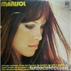 Discos de vinilo: MARISOL – CORAZÓN CONTENTO (CAUDAL, CAU-437 LP, 1976) VG+/M-. Lote 195288457