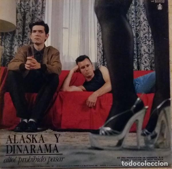 ALASKA Y DINARAMA – SOLO CREO LO QUE VEO (HISPAVOX, (549)4021176, 12'', MAXI, 1987) MUY BUEN ESTADO! (Música - Discos de Vinilo - Maxi Singles - Grupos Españoles de los 70 y 80)