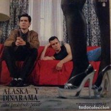 Discos de vinilo: ALASKA Y DINARAMA – SOLO CREO LO QUE VEO (HISPAVOX, (549)4021176, 12'', MAXI, 1987) MUY BUEN ESTADO!. Lote 195289013