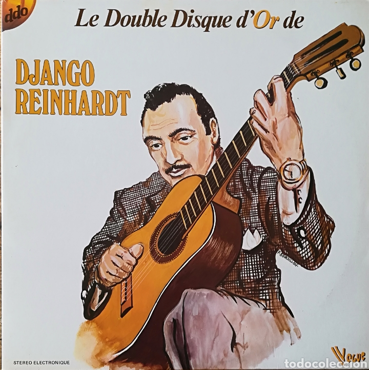 DISCO DJANGO REINHARDT (Música - Discos - LP Vinilo - Jazz, Jazz-Rock, Blues y R&B)