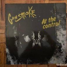 Discos de vinilo: GUNSMOKE – AT THE CONTROL SELLO: AFASSA – AFA 2500 FORMATO: VINYL, LP PAÍS: FRANCE PUBLICADO: 1983 . Lote 195289886