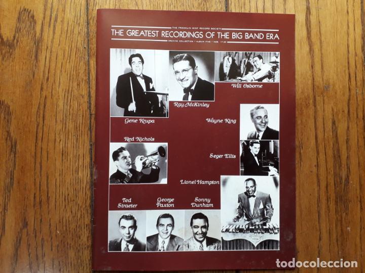 Discos de vinilo: The greatest recordings of the big band era - vol. 17-18 -19 -20 gene krupa + ray mckinley + lionel - Foto 2 - 195290191