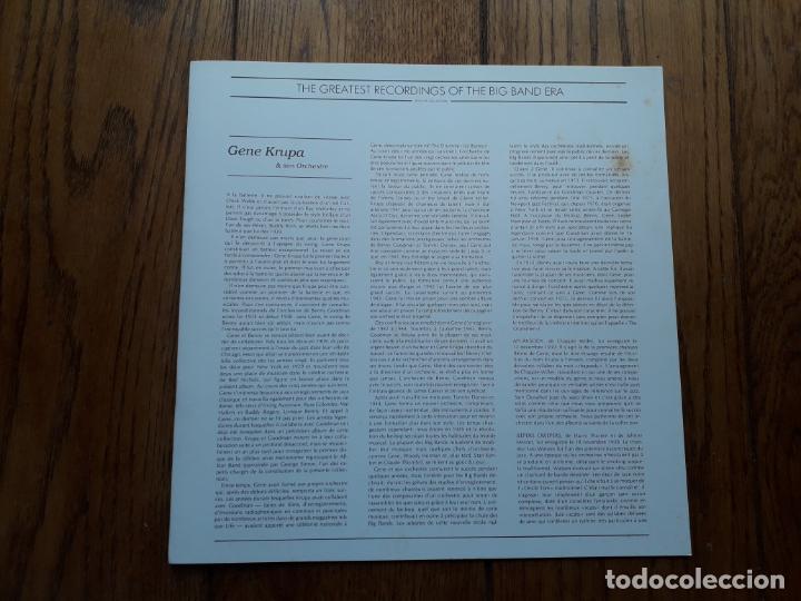 Discos de vinilo: The greatest recordings of the big band era - vol. 17-18 -19 -20 gene krupa + ray mckinley + lionel - Foto 3 - 195290191
