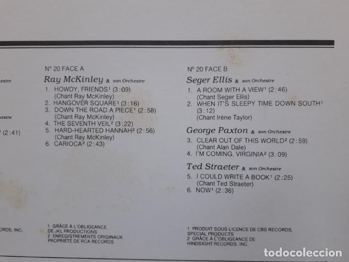 Discos de vinilo: The greatest recordings of the big band era - vol. 17-18 -19 -20 gene krupa + ray mckinley + lionel - Foto 7 - 195290191