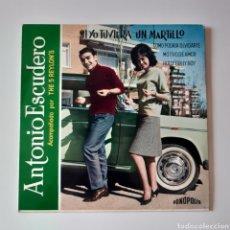 Discos de vinilo: ANTONIO ESCUDERO, ACOMPAÑAN THE 5 REYLON'S. FONÓPOLIS 1964. F.B.64-17. SI YO TUVIERA UN MARTILLO + 3. Lote 195290243