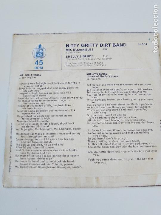 Discos de vinilo: NITTY GRITTY DIRT BAND Mr Bojangles / Shelleys blues ( 1971 LIBERTY ESPAÑA ) COUNTRY ROCK - Foto 2 - 195290547