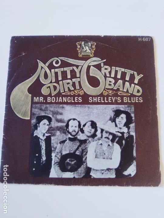 NITTY GRITTY DIRT BAND MR BOJANGLES / SHELLEY'S BLUES ( 1971 LIBERTY ESPAÑA ) COUNTRY ROCK (Música - Discos - Singles Vinilo - Country y Folk)