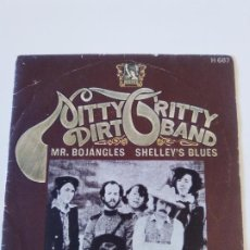 Discos de vinilo: NITTY GRITTY DIRT BAND MR BOJANGLES / SHELLEY'S BLUES ( 1971 LIBERTY ESPAÑA ) COUNTRY ROCK. Lote 195290547