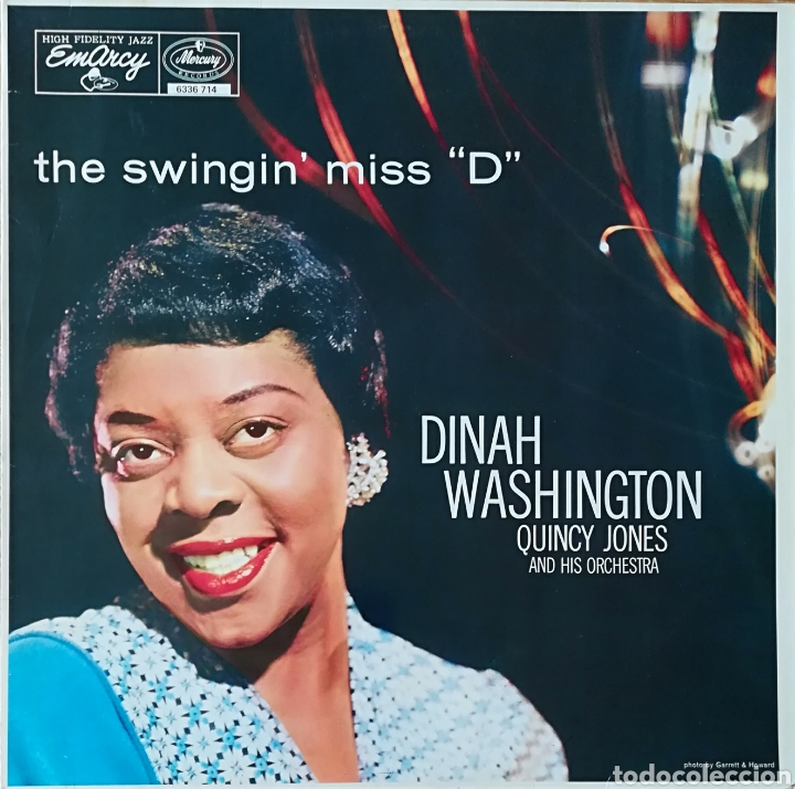 DISCO DINAH WASHINGTON (Música - Discos - LP Vinilo - Jazz, Jazz-Rock, Blues y R&B)