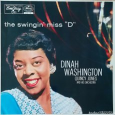 Discos de vinilo: DISCO DINAH WASHINGTON. Lote 195295681