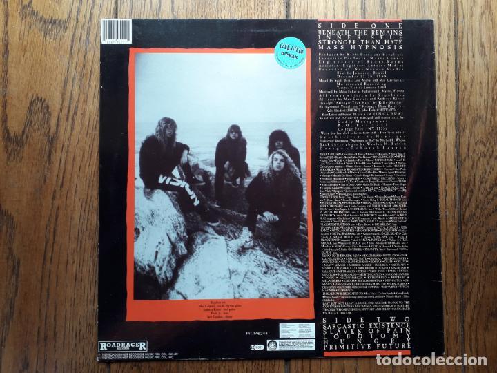 Discos de vinilo: Sepultura - beneath the remains - Foto 2 - 195296105
